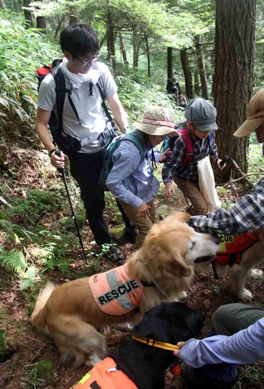 浅間山系捜索犬の旅(97)
