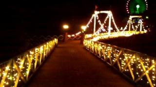 みろくの里イルミ橋