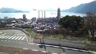 三原道の駅から見た瀬戸内