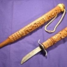 海外の部族刀4