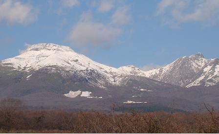 冠雪那須山