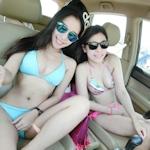 台湾・エバー航空の美人CAのビキニ画像が流出?