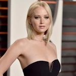 アメリカ女優 Jennifer Lawrence(ジェニファー・ローレンス)がオスカーパーティーでセクシードレス