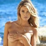 アメリカ美女モデル Samantha Hoopes(サマンサ・ホープス) セクシー手ブラセミヌード画像