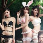 オンラインゲーム「洛奇英雄传(マビノギヒーローズ)」 美女モデルセクシーコスプレ画像