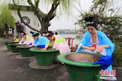 中国茶摘娘 5