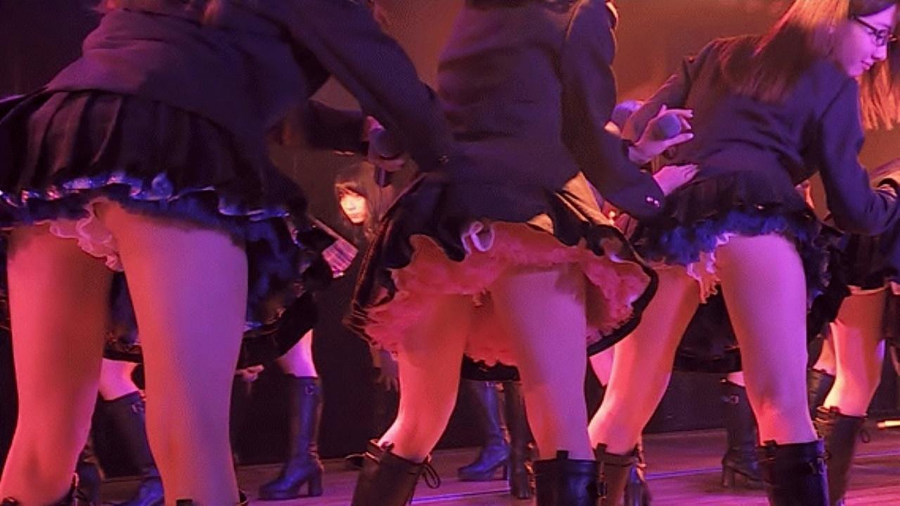 AKB48 柏木由紀のお尻フリフリがえろいGIFムービーwwwwww