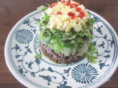 IMG_2206_20151025_02_五穀米のガパオ風サラダ