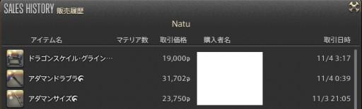 新生14 618日目 販売履歴