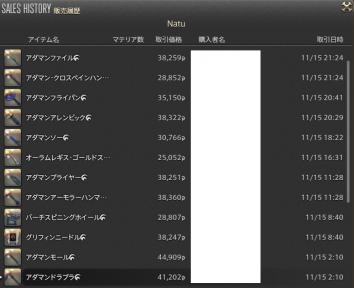 新生14 628日目 販売履歴01