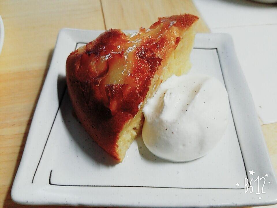 151201りんごケーキ6完成