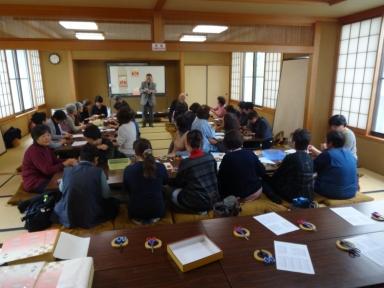 竹山会長と亀田さんの心のこもった指導