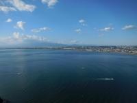 江ノ島展望台から富士山方面151103