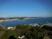 江ノ島展望台から逗子方面151103