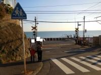 有名な鎌倉高校踏み切り151103