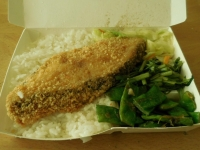 魚排飯151117