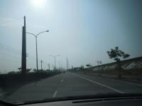 PM2.5で白い高雄の空151203