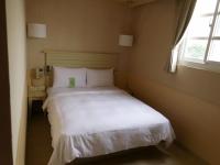 康橋商旅商務房のベッド151203
