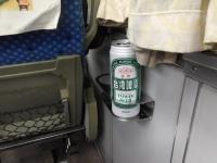 特急乗ったら缶ビール151203