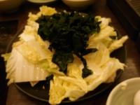 白菜とワカメ大量追加151205