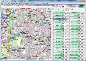 100時間カレーB&R東高円寺店周辺統計データ