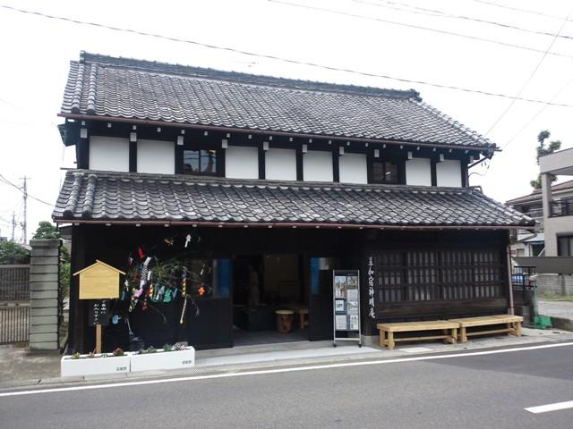 H草加宿神明庵