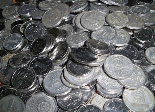 お金 money 1円玉