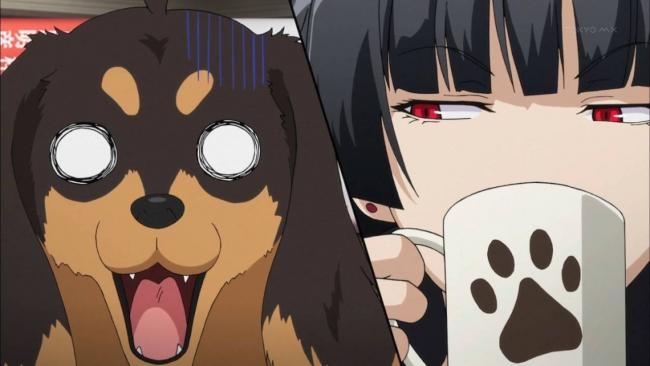 犬とハサミは使いよう dog inu