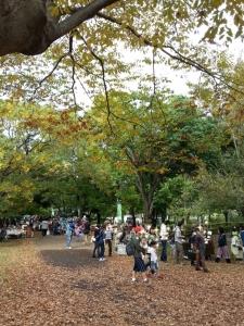 泉の森公園内