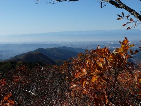 吾妻山と富士山