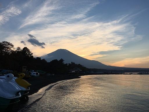山中湖の富士山~