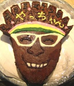 やっちゃん顔ケーキ