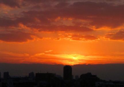 S20130929茗台セミナー室からの夕景2