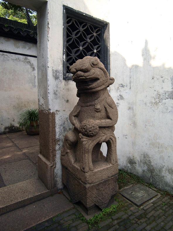 上海の狛犬-2