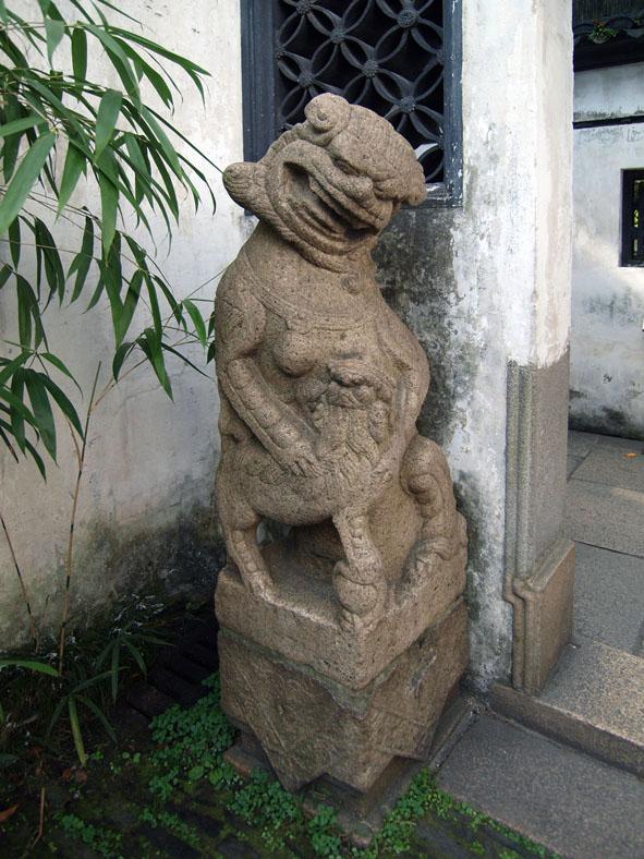 上海の狛犬-3