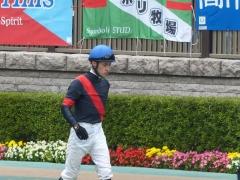パドック:ルメール騎手