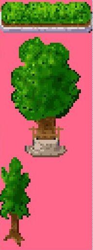 マップチップ 木、生垣