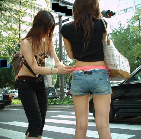街撮りショートパンツ画像 14