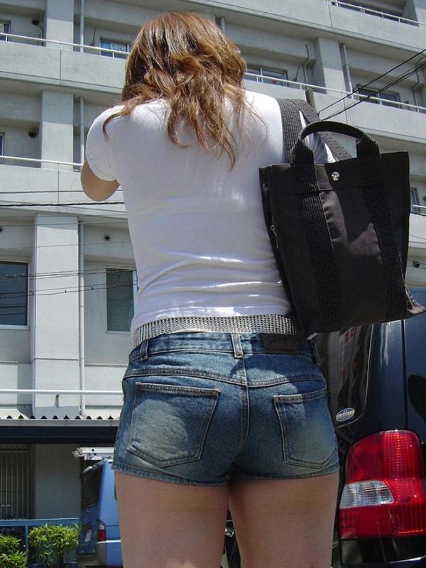 街撮りショートパンツ画像 34