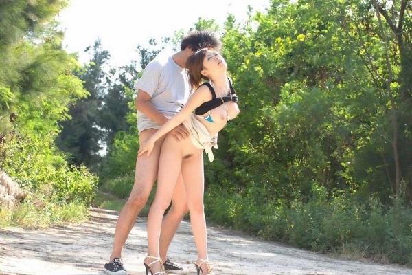 野外セックス画像 29