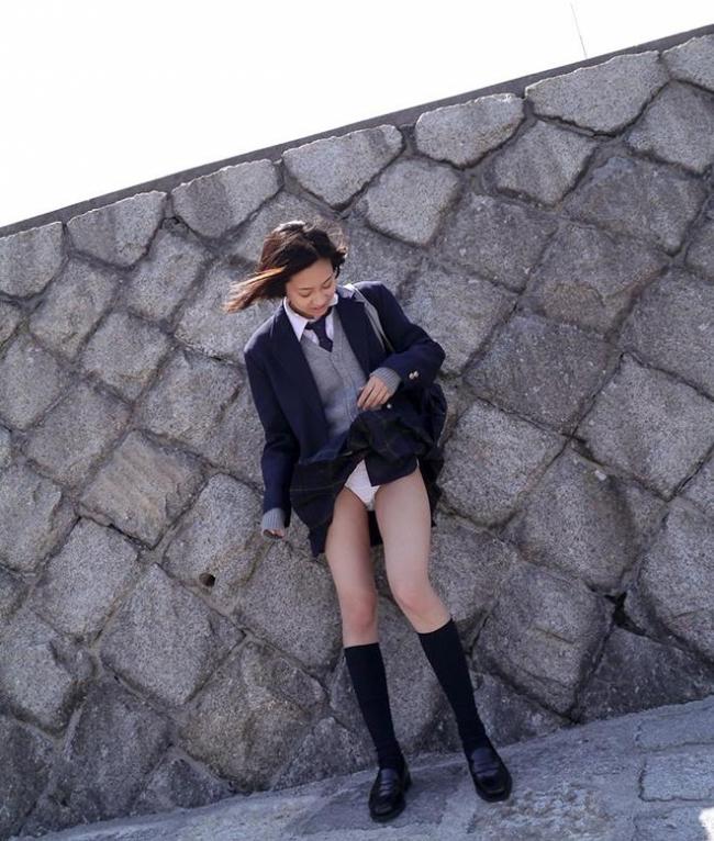 女子高生のスカート画像 7