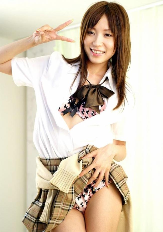 女子高生のスカート画像 25