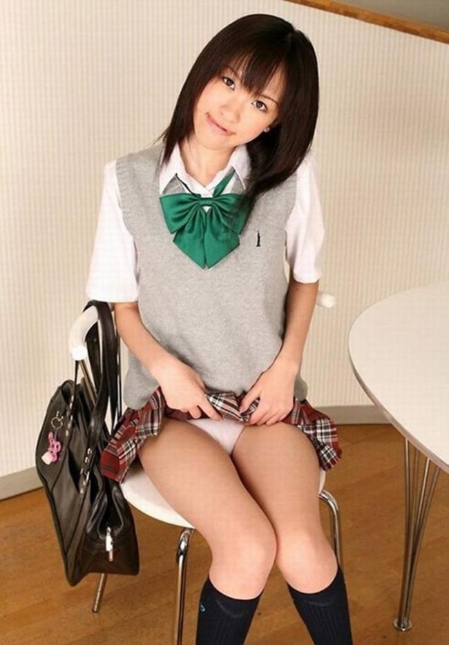 女子高生のスカート画像 40