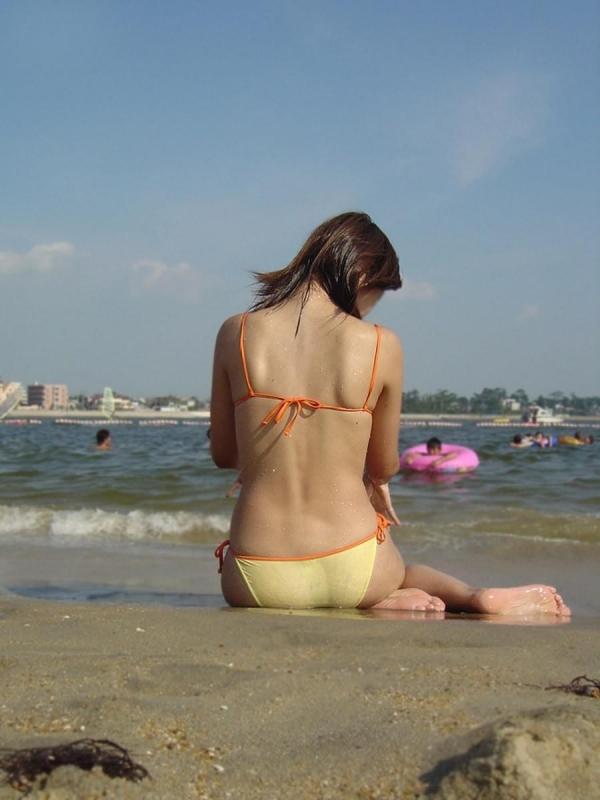 素人の水着画像 15