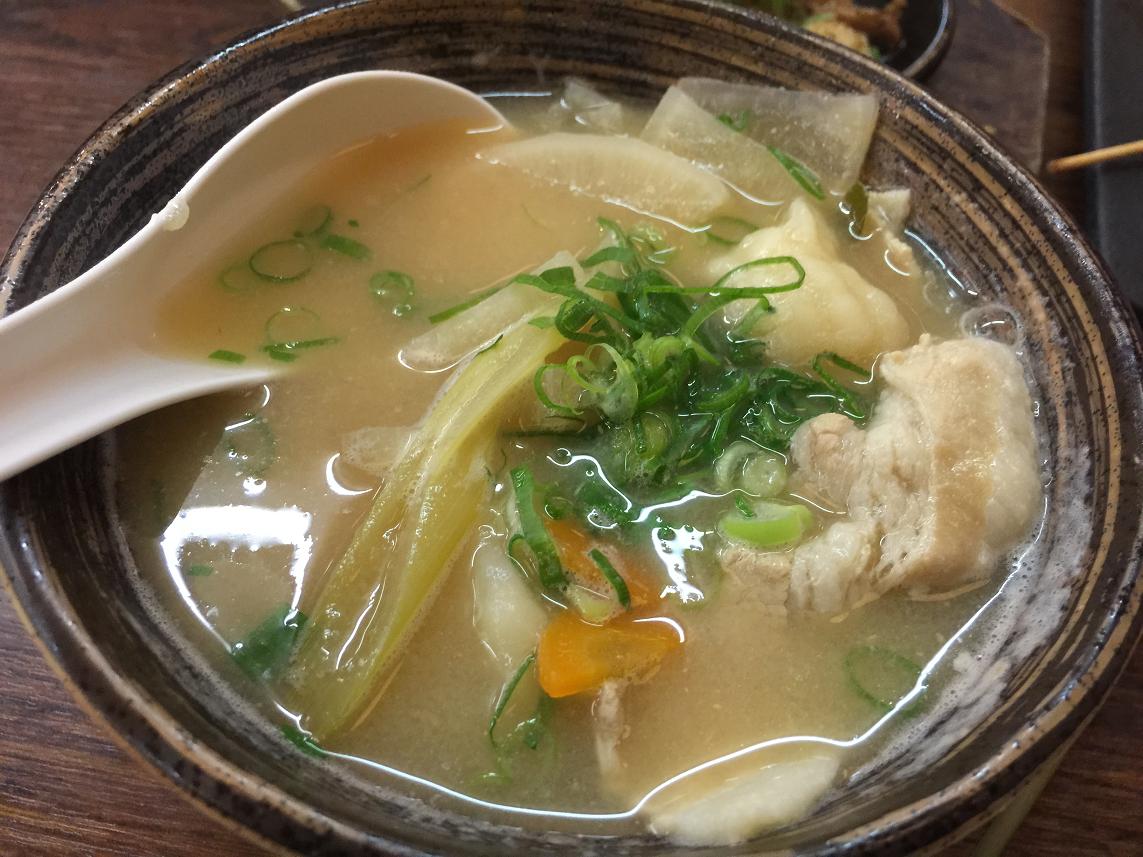 串カツ24時間営業鶴亀家すいとん汁