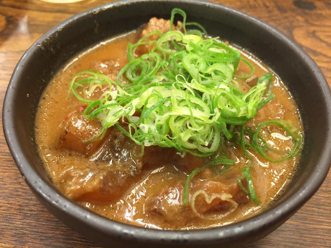 串カツ大西屋ジャンジャン横丁店どて焼き