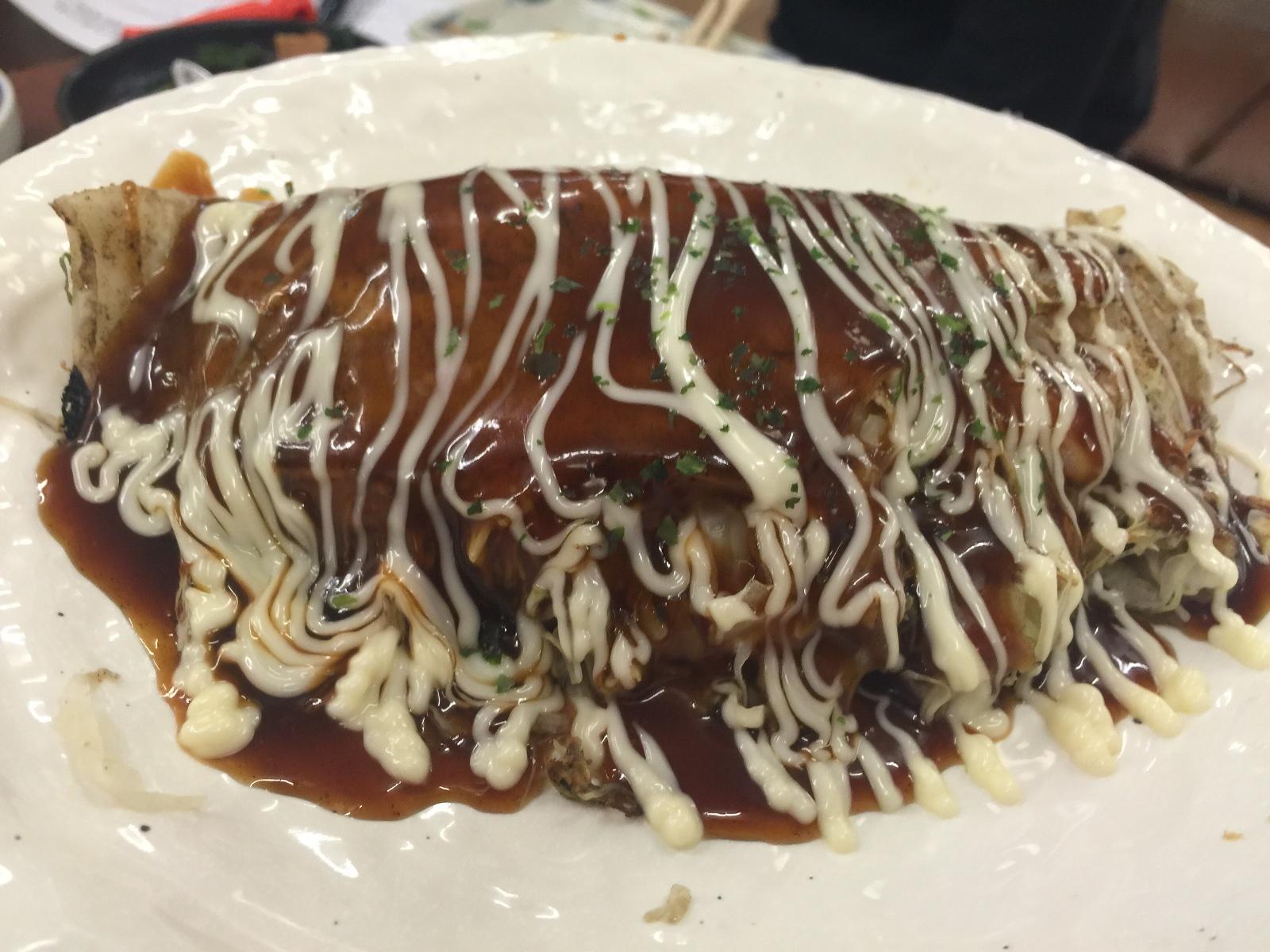串カツと自分で焼くタコ焼き新世界味の大丸一銭洋食