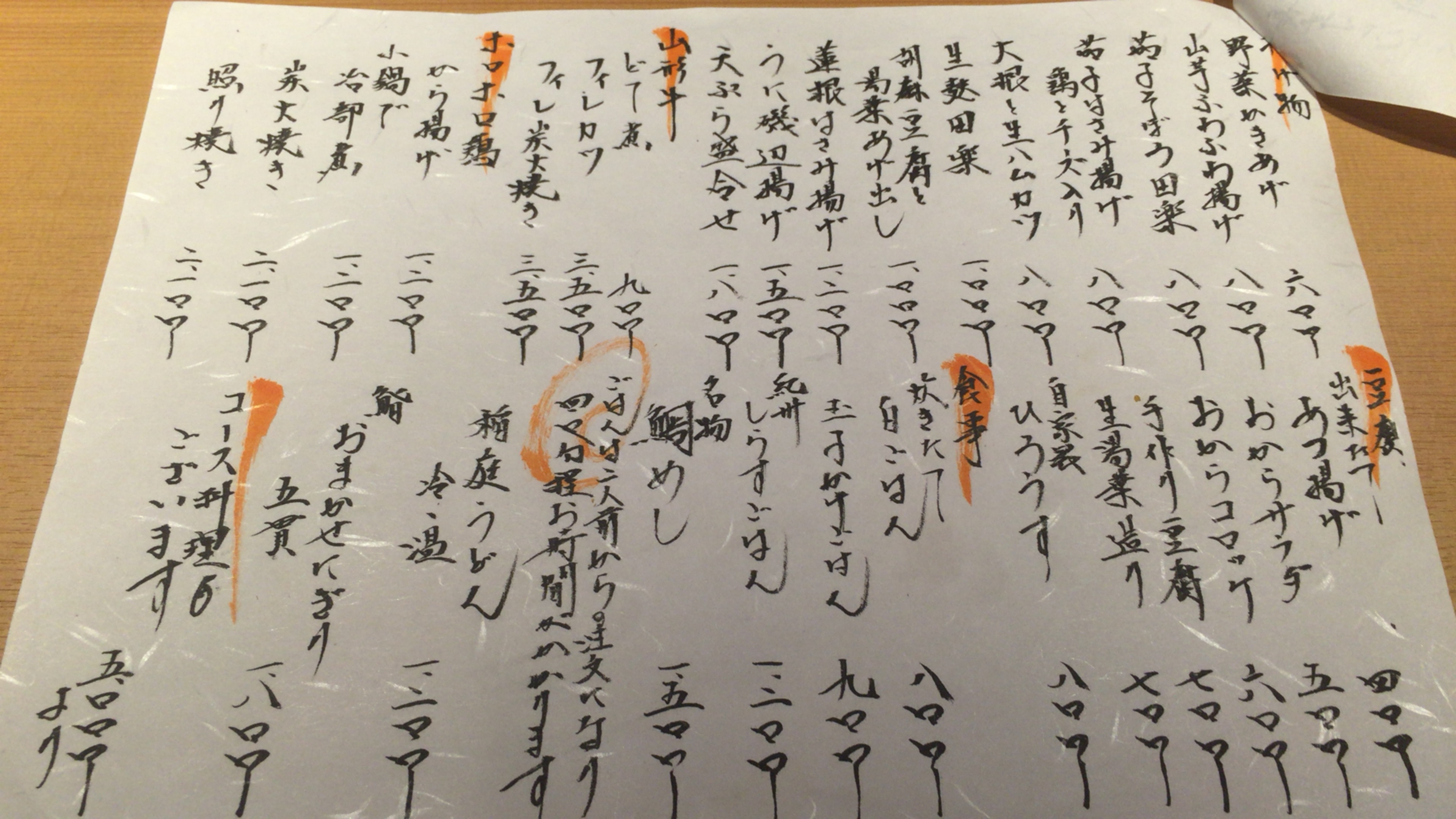 大阪ミナミの宗衛門町にある小料理・割烹『旬草hide』メニューごはん