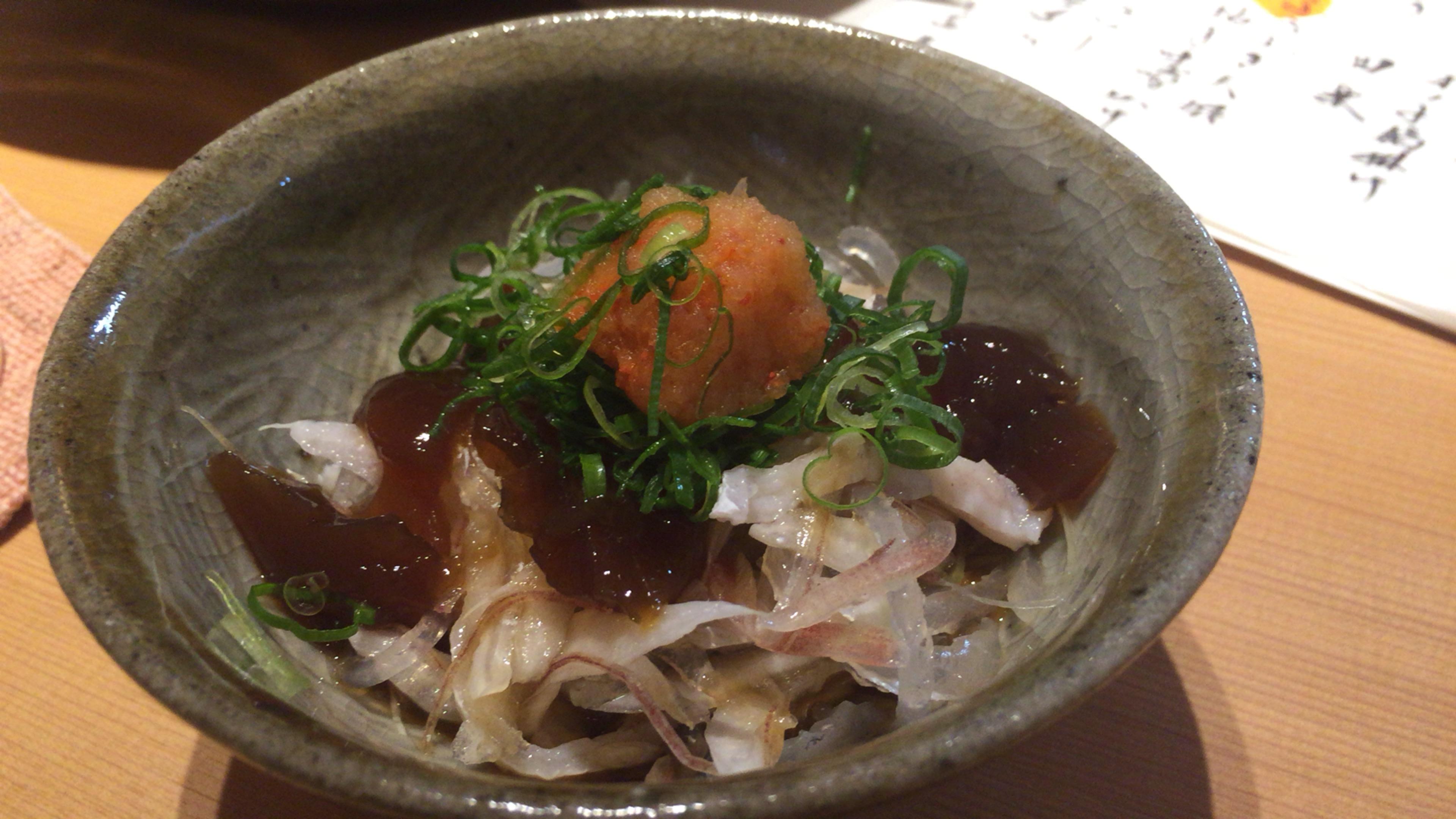 大阪ミナミの宗衛門町にある小料理・割烹『旬草hide』てっぴ
