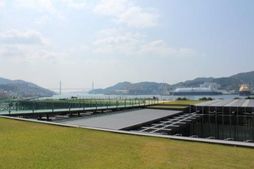 0014:長崎県美術館 屋上庭園②